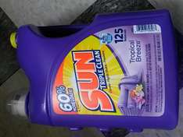 Walmart: Detergente líquido Sun 5.55lts $59.01