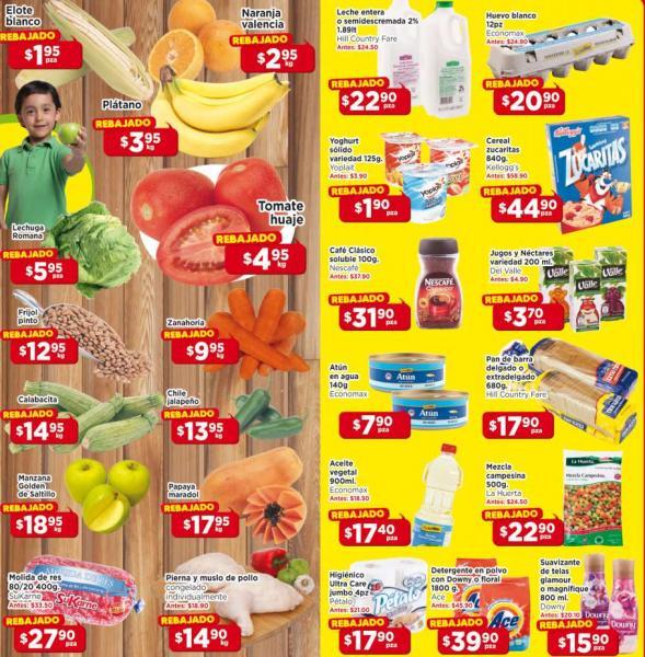 Ofertas de frutas y verduras en HEB del 21 al 23 de enero: tomate $4.95 y más