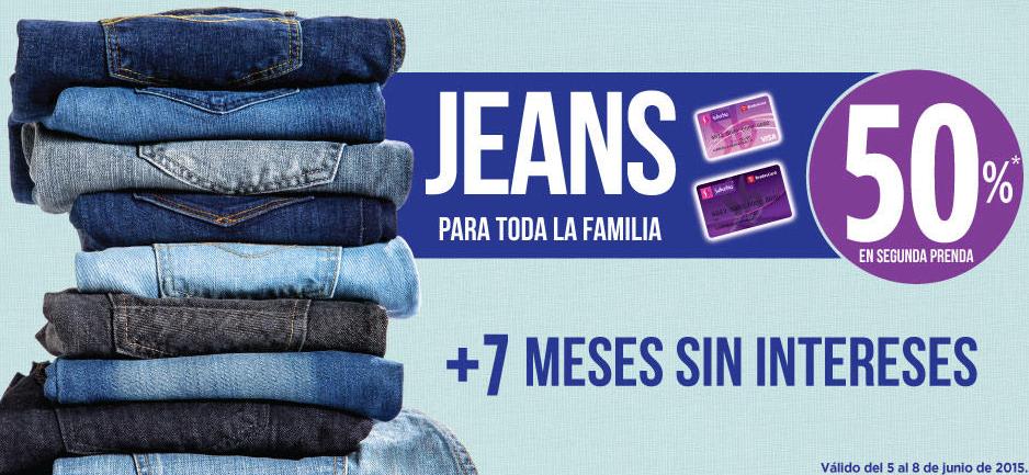 Suburbia: 2x1 y medio en jeans para toda la familia