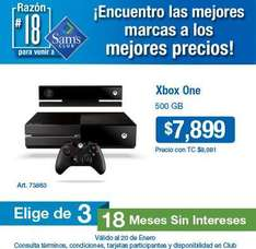Sam's Club: Xbox One $7,799