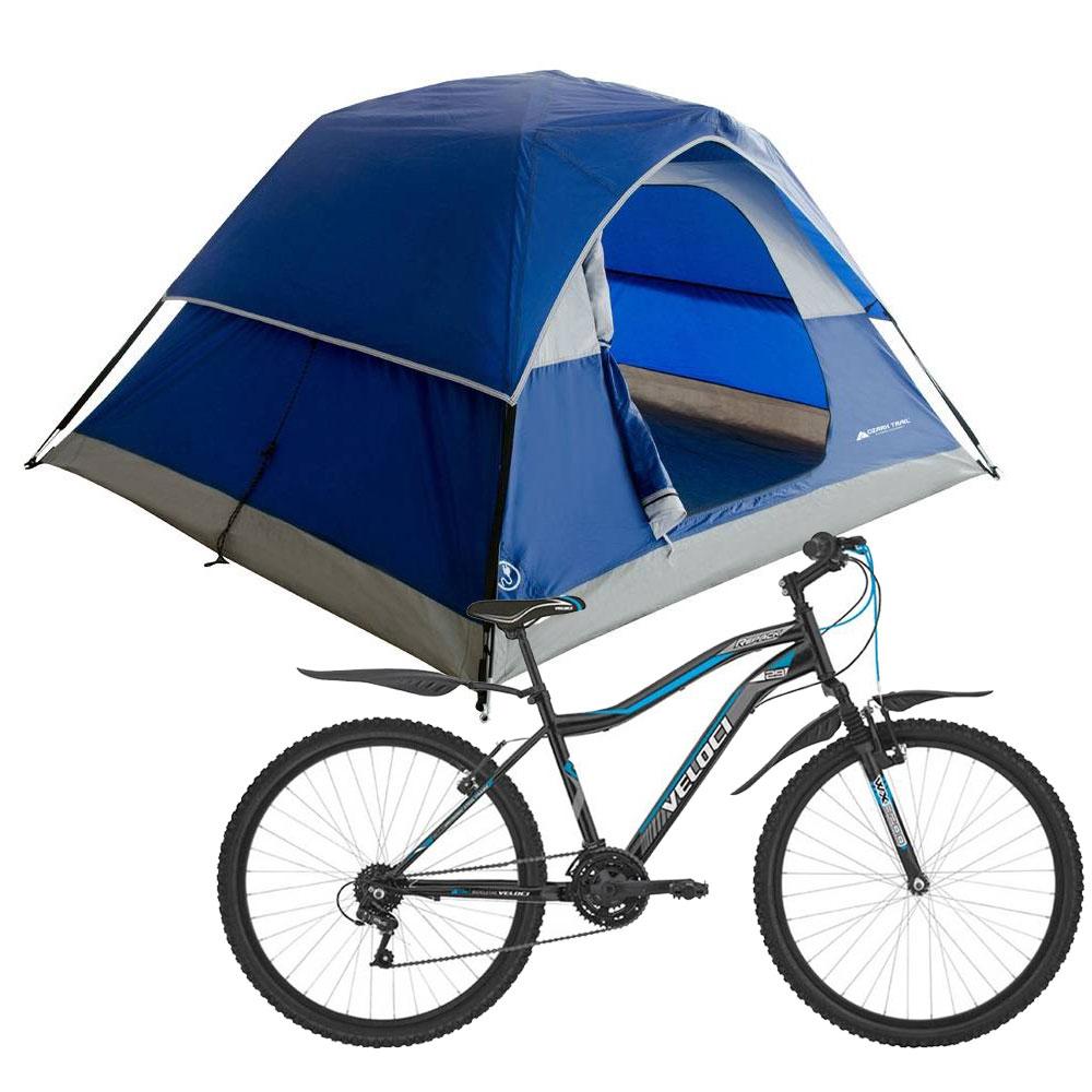 Walmart: Bicicleta Veloci Repack R29 + tienda de Campaña $2,499