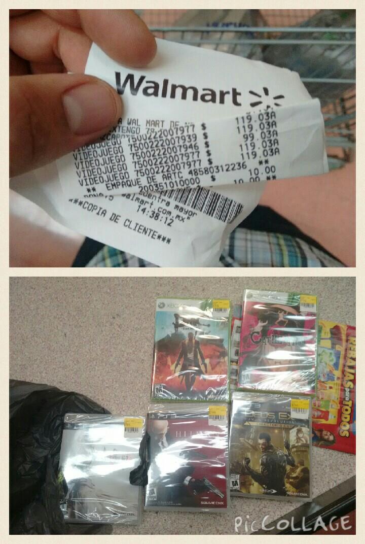 Walmart: juegos para PS3 y Xbox 360 a $99 y $119