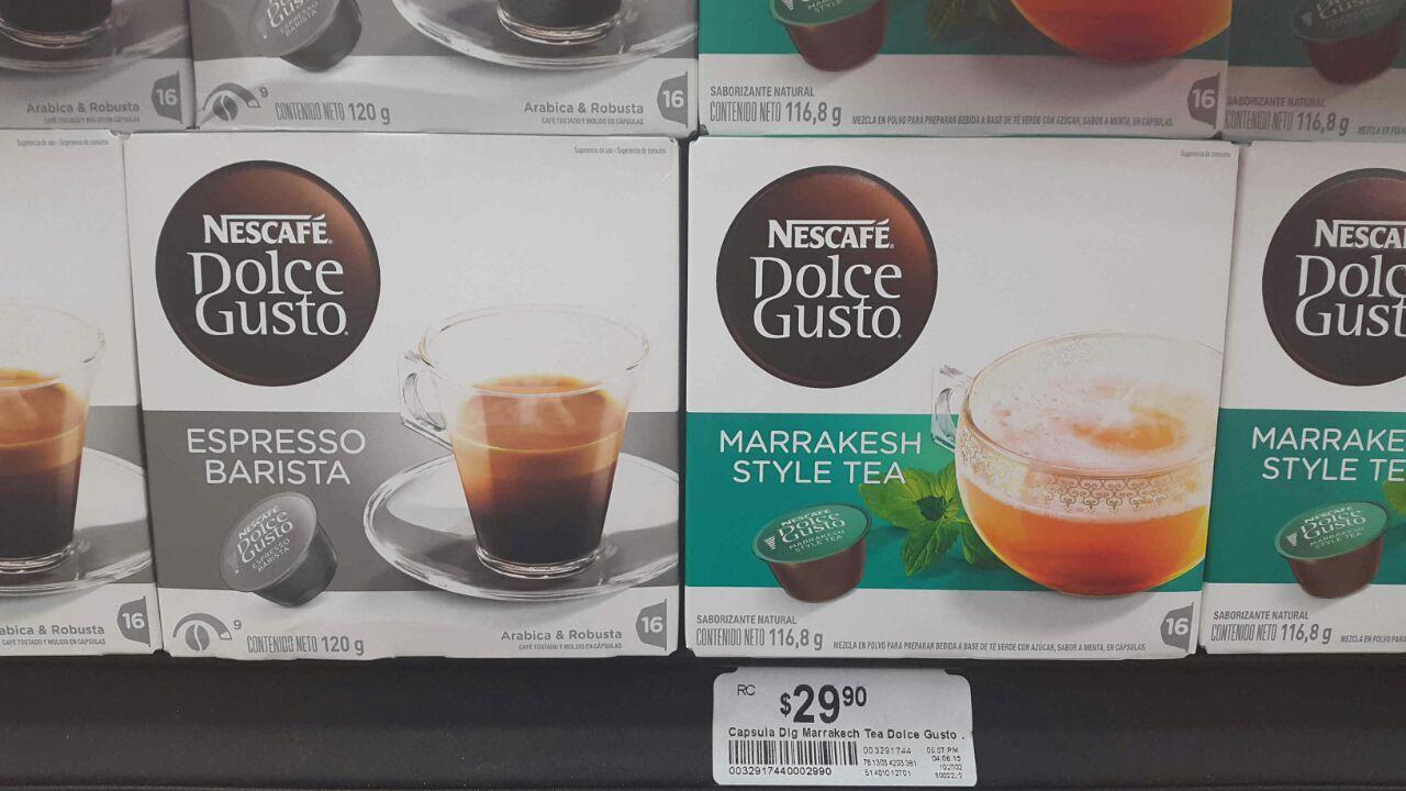 Chedraui: Caja Nescafé Dolce Gusto a $29.90