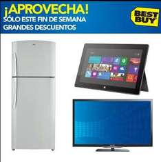 "Best Buy: LED Smart TV 40"" $6,699 y refrigerador 19' $6,999 y $1,500 en cupones"