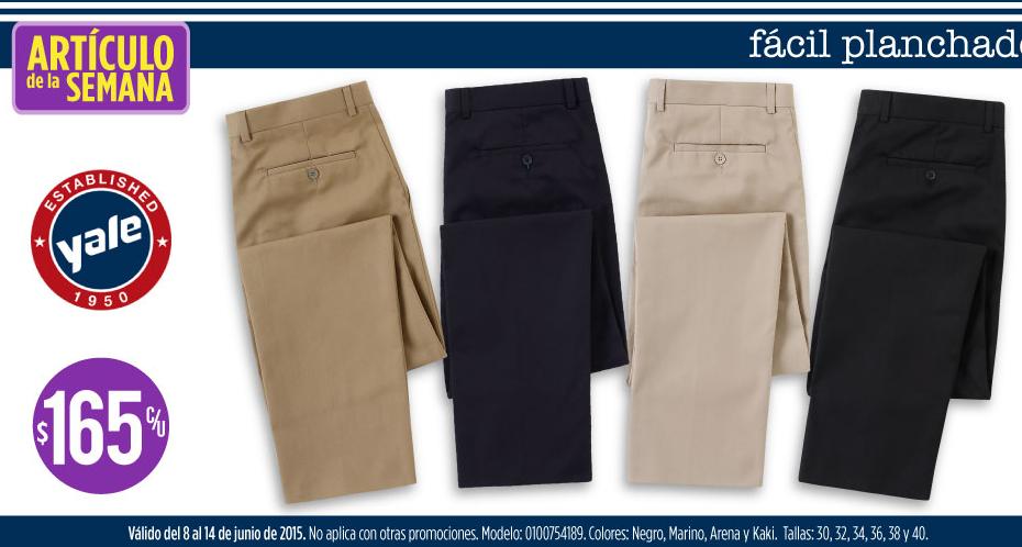 Suburbia: pantalón Yale $165