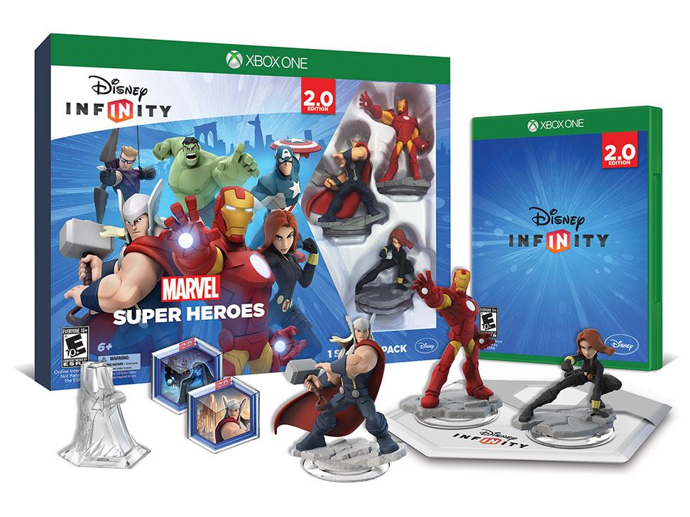 Liverpool: Disney Infinity 2.0 Starter Pack XO o PS4 $479, Wii U $559