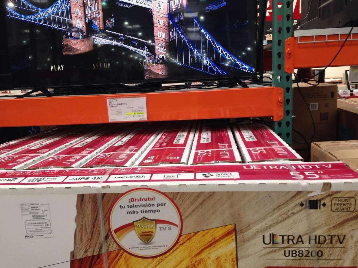 "Costco: LG 55"" UHDTV 4K 120HZ Mod 2014 $11,999"