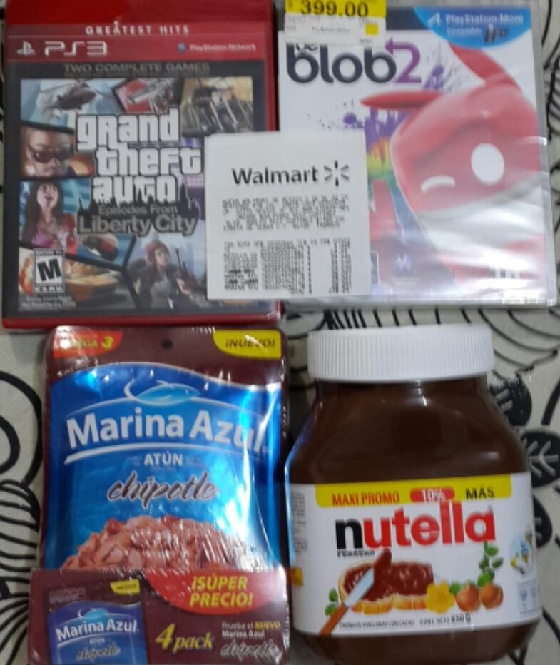 Walmart: Juegos PS3, Nutella y atún en liquidación