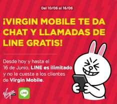 Virgin Mobile llamadas y chat gratis e ilimitado de LINE
