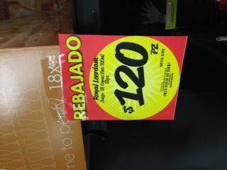 HEB: Juego de 18 Copas de vino de 320 ml Royal Leerdam $120