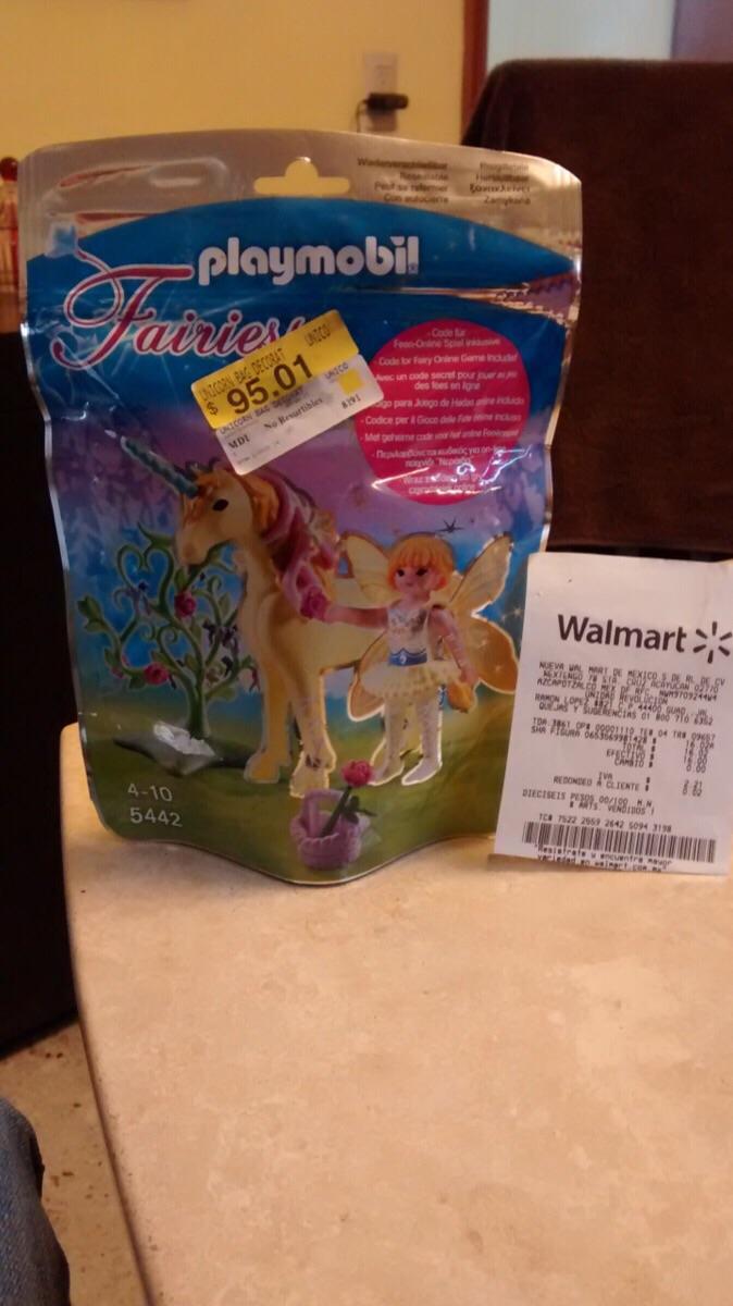 Walmart: Playmobil unicornio con hada de $95.01 a $16.02