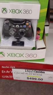 Sam's Club: control inalambrico xbox 360 $499