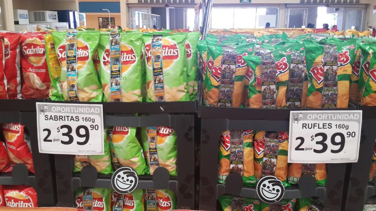 Walmart: 2 bolsas de Sabritas o Rufles por $39