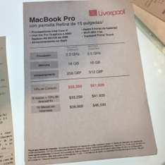 "Liverpool: MacBook Pro Retina 15"" $41,939 (Apple Store $47,999)"