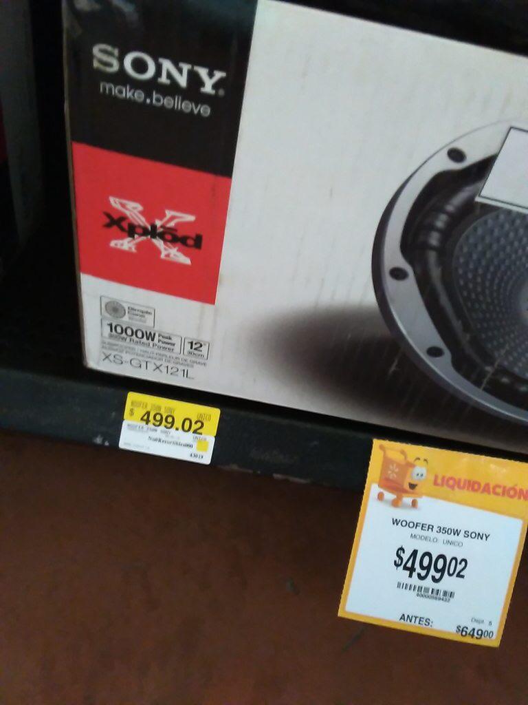 Walmart: Varias liquidaciones (vistas en Querétaro)