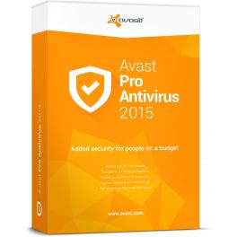 Avast Pro Antivirus 2015 Gratis por 1 año