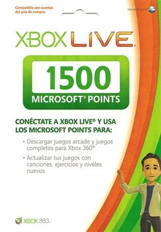 Gamerush: 1500 Microsoft Points a $140