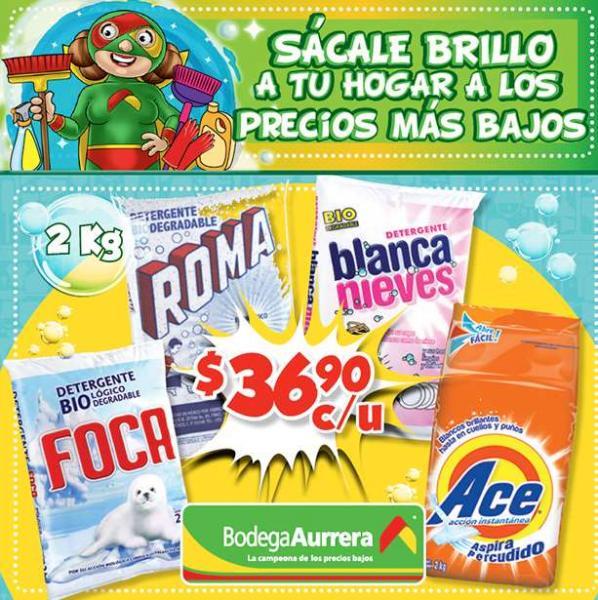 Folleto de ofertas del 7 de enero en Bodega Aurrerá