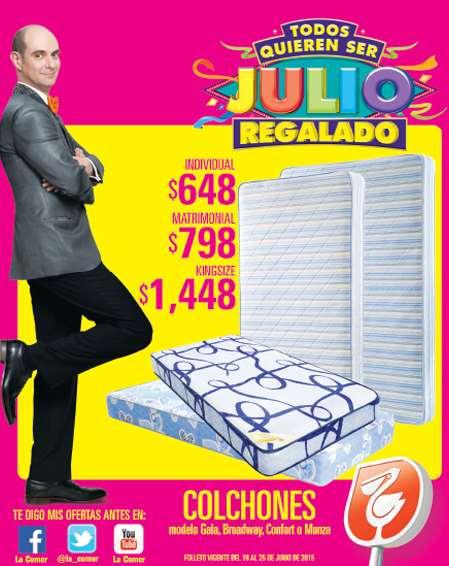 Folleto de ofertas de Julio Regalado del 19 al 25 de Junio en La Comer