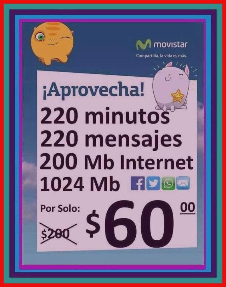 Movistar: 1 mes de servicio a precio especial por portabilidad