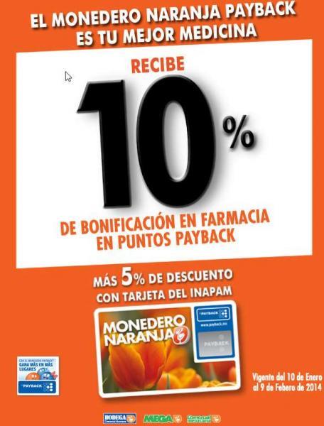La Comer: 10% de bonificación en farmacia