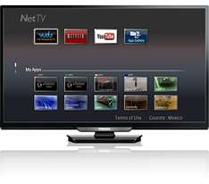 "Julio Regalado en La Comer: Pantalla Philips Smart Tv de 40"" Full HD 60Hz $4,668"
