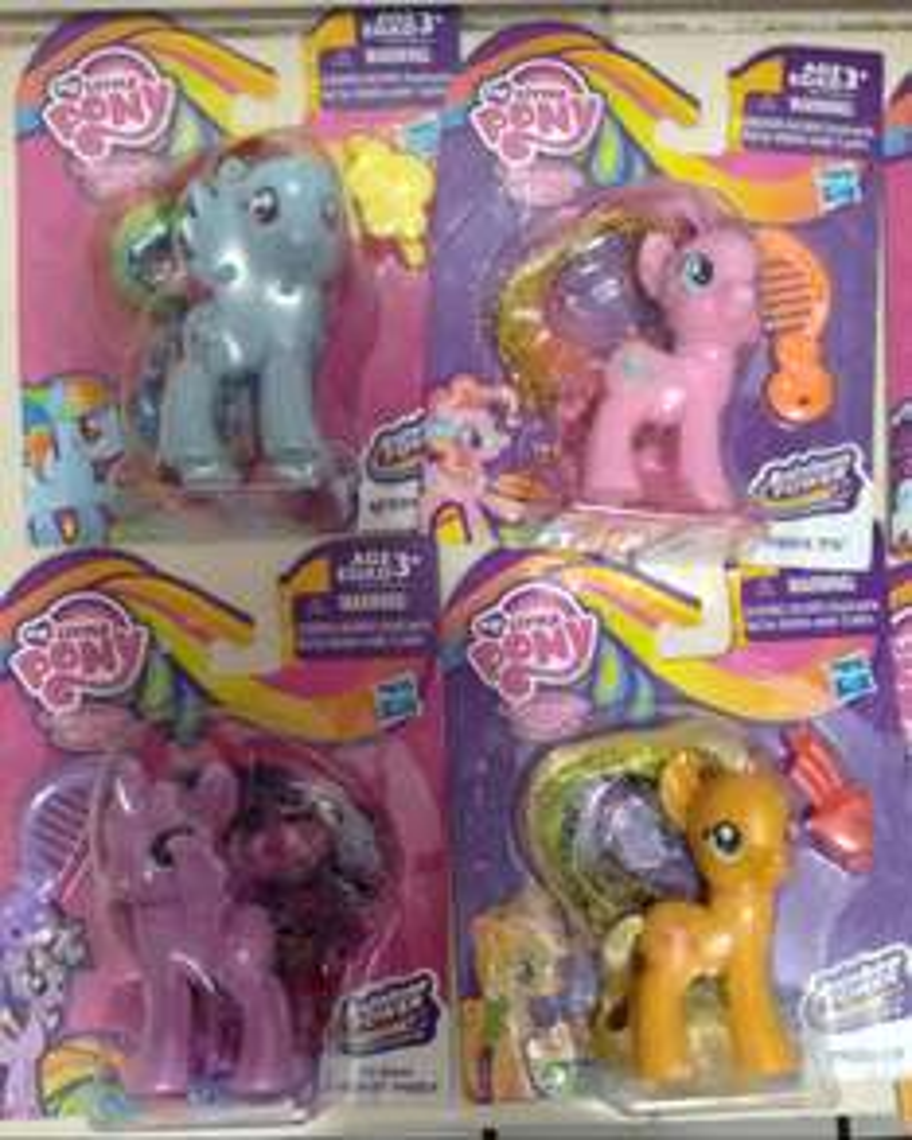 Bodega Aurrerá: Figuras Hasbro My Little Pony $8.02