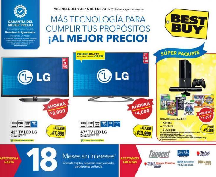 Best Buy: descuentos en pantallas, memorias, cámaras y más