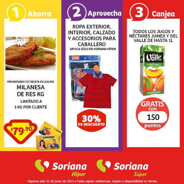 Soriana: Milanesa de res $79.90 kg y más