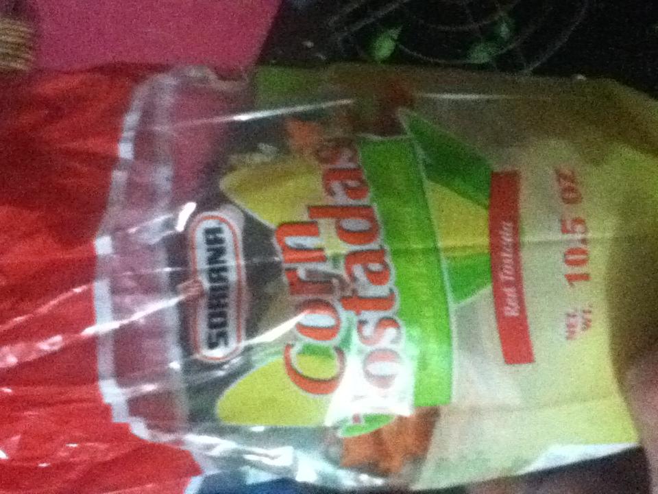 Soriana: tostadas 300g a $1.50