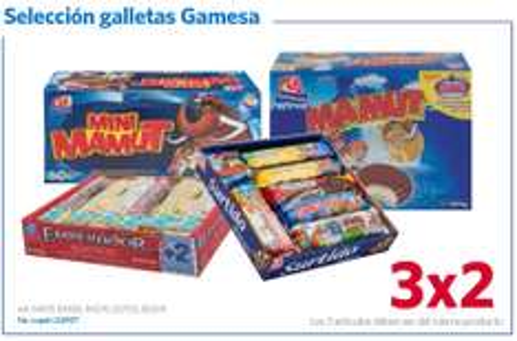 Sam's Club: 3x2 en galletas Gamesa seleccionadas