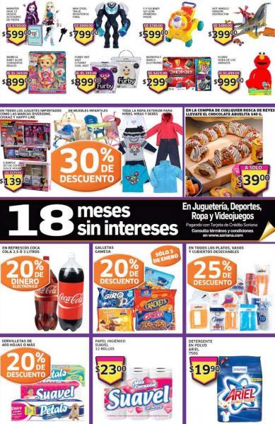Soriana: descuentos en  juguetes, galletas, refrescos y más
