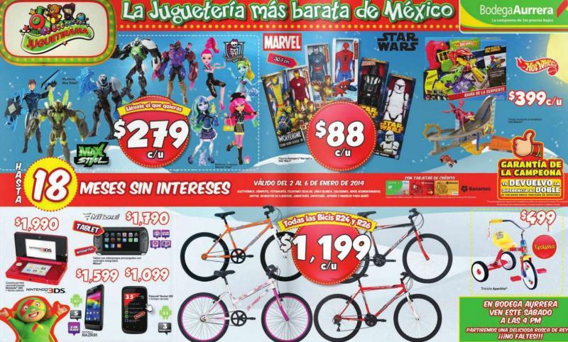 Bodega Aurrerá: FurReal Friends Anna Banana $999, Barbie $49, bicicleta R26 $1,199 y más