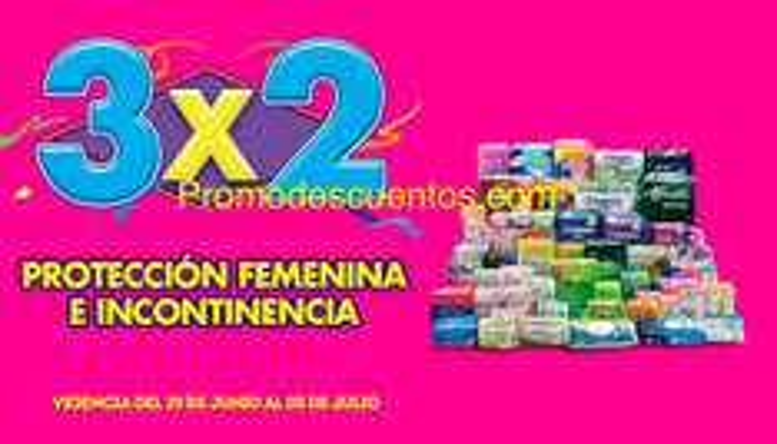 Ofertas Julio Regalado 2015: 3x2 en protección femenina e incontinencia