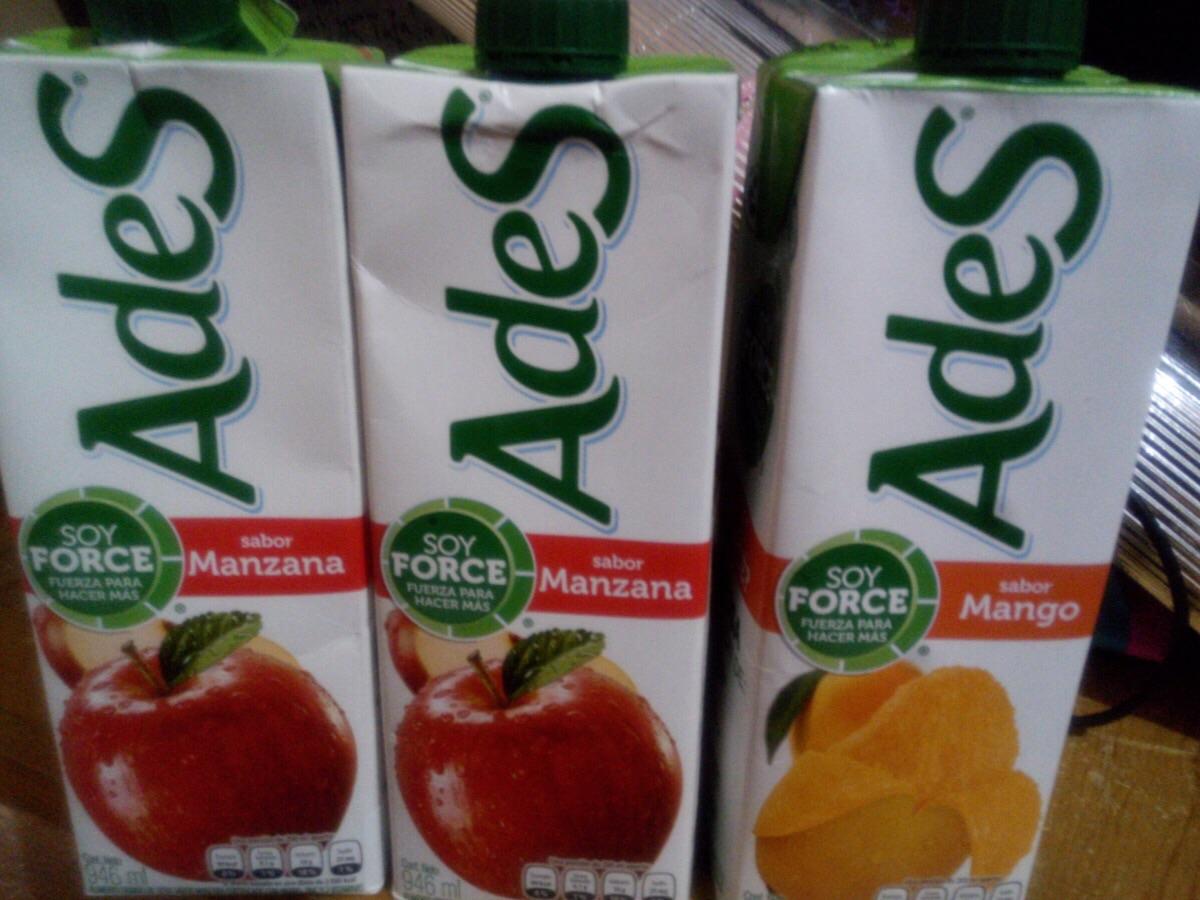 Walmart: paquete de jugo del valle a $22.03 y jugos Ades sabor mango y manzana a $33