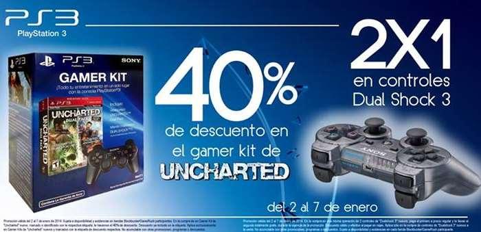 Blockbuster: 2x1 en controles para PS3 y más