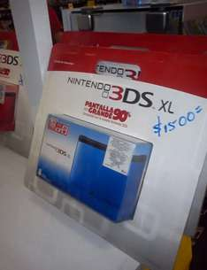 HEB: Nintendo 3DS XL a $1,500