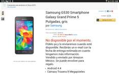 Amazon: Galaxy Grand Prime a $1,300 y envío gratis