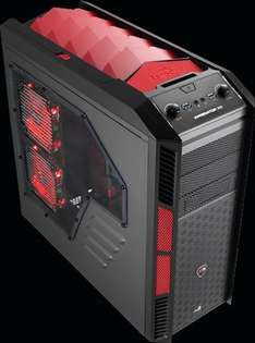 Amazon: Gabinete AeroCool Xpredator-X3 Devil Red Edition
