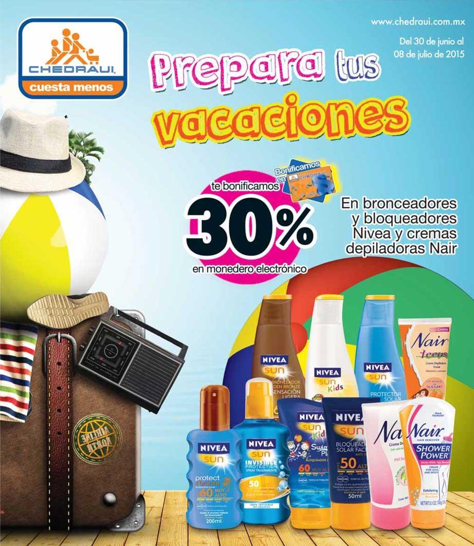 Folleto de ofertas en Chedraui del 30 de junio al 8 de julio