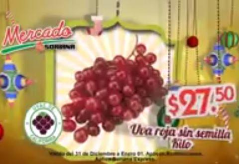 Ofertas de frutas y verduras en Soriana diciembre 31 y enero 1