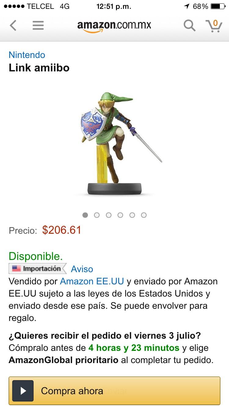 Amazon: Amiibo Link $207