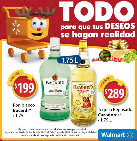 Folleto de ofertas en Walmart del 26 de diciembre al 2 de enero