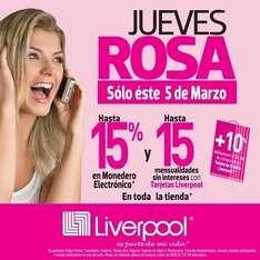 Liverpool: jueves rosa