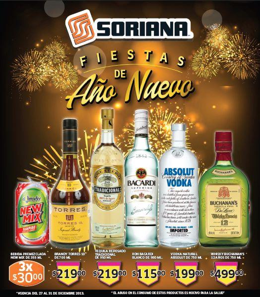 Folleto de ofertas en Soriana del 27 de diciembre al 2 de enero
