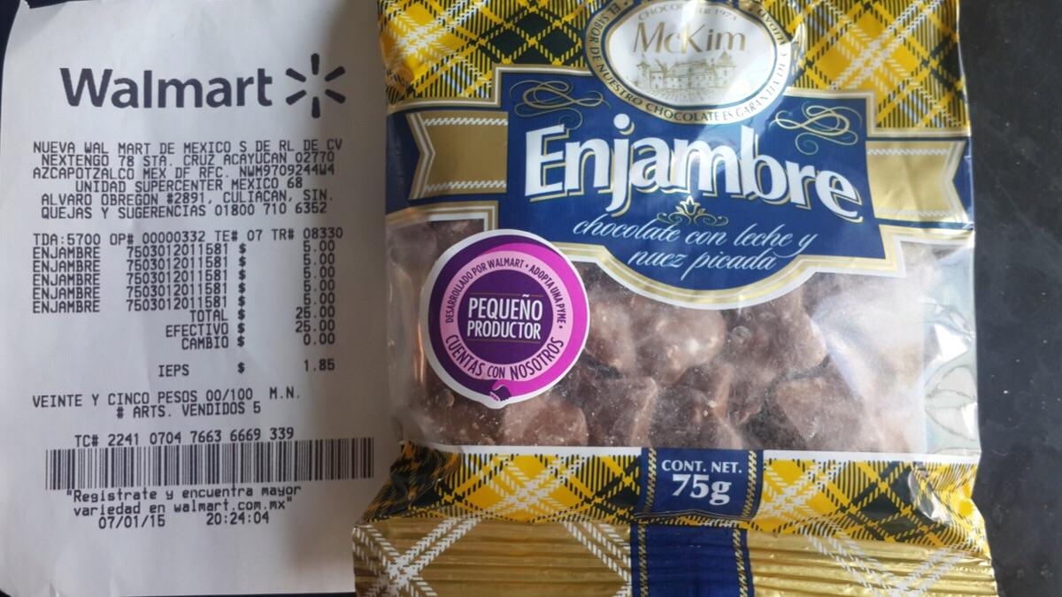 Walmart: chocolate marca MCKIM de $24 a $5