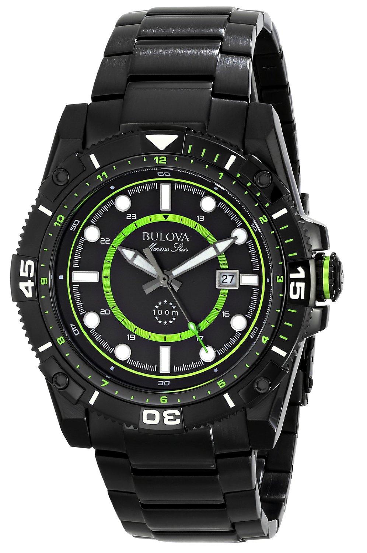 Amazon: reloj Bulova de hombre 98B178 Marine Star $1,540