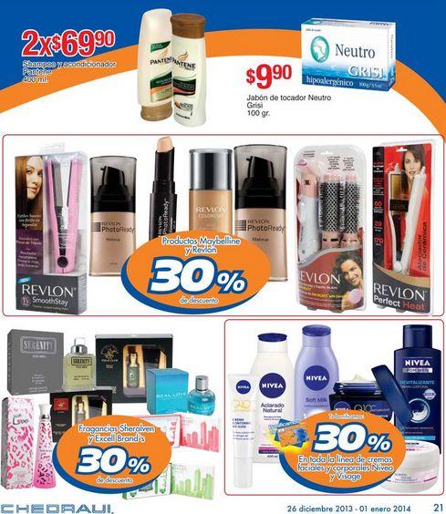 Folleto de ofertas Chedraui del 26 de diciembre al 1 de enero (varios 3x2)