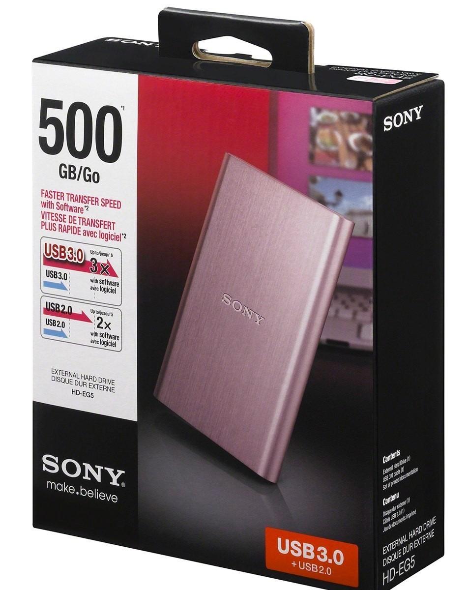 Bodega Aurrerá: disco duro Sony de 500GB a $399.02