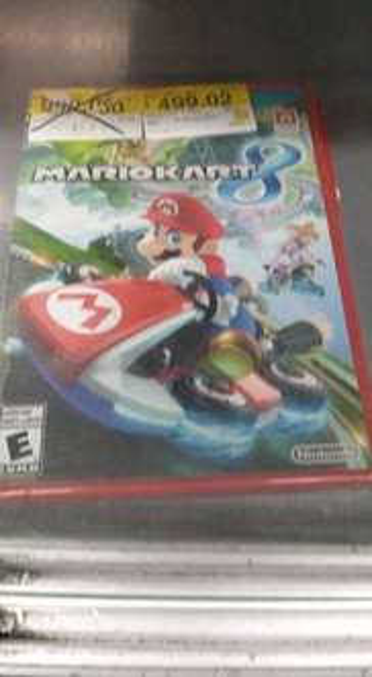 Walmart: Mario Kart 8 para Wii U a $499.02